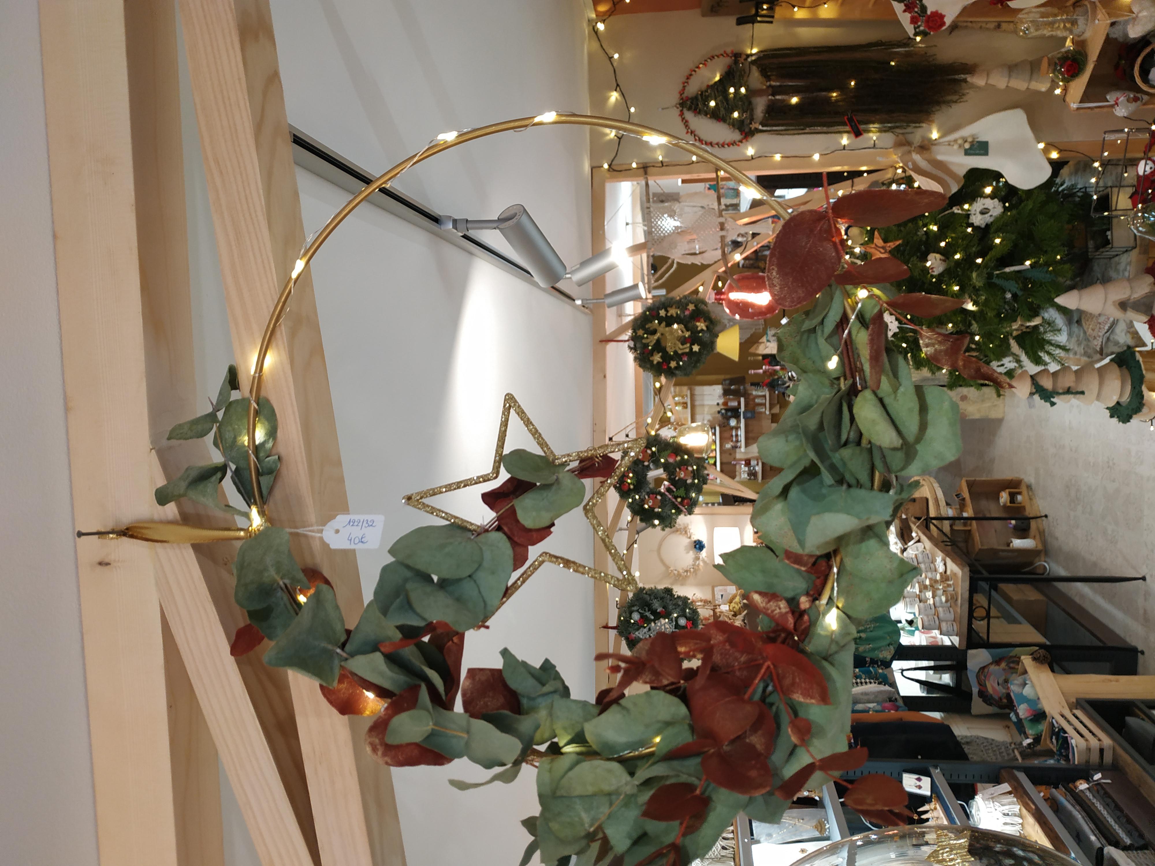 couronnes d'eucalyptus