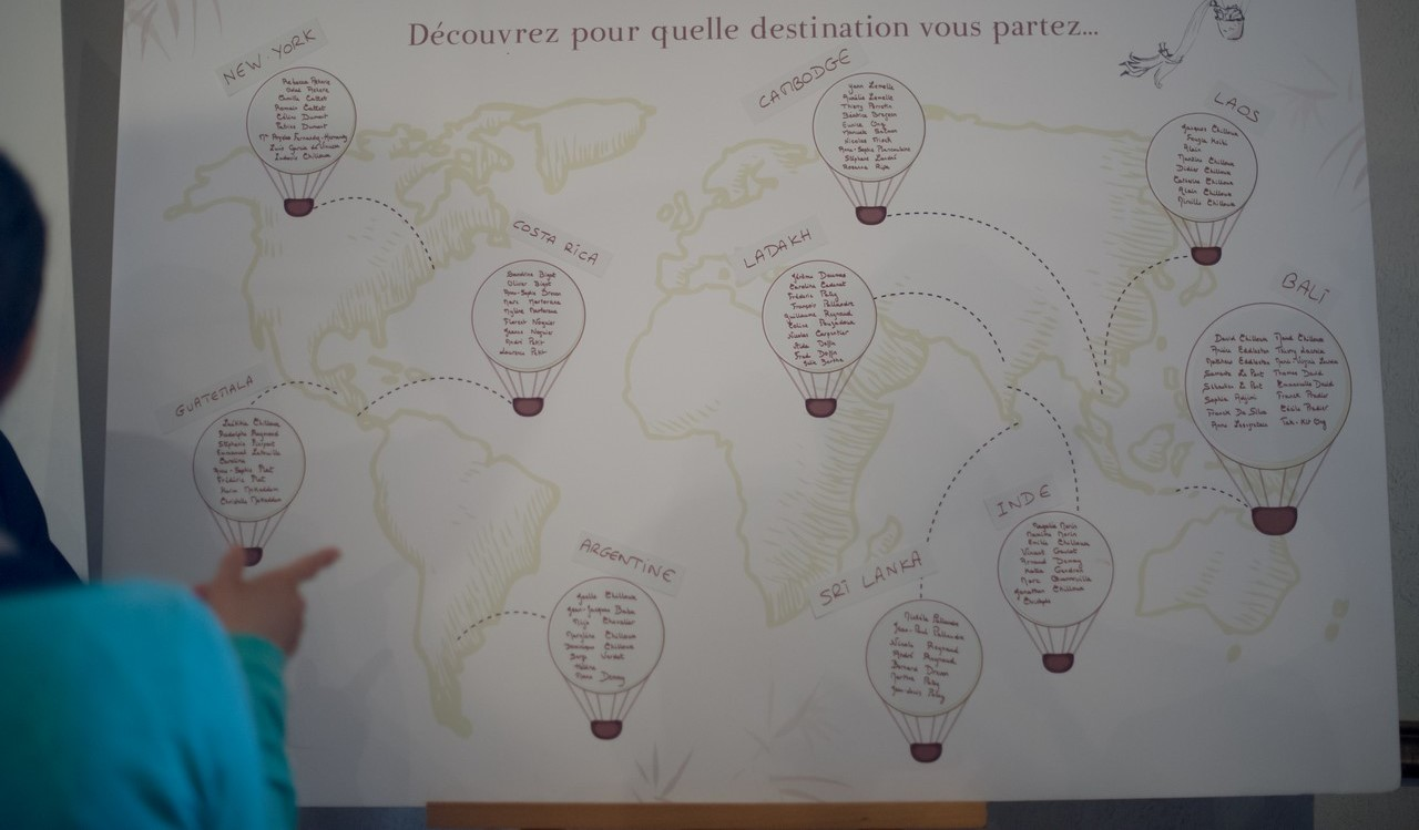 Mariage Voyage autour du monde
