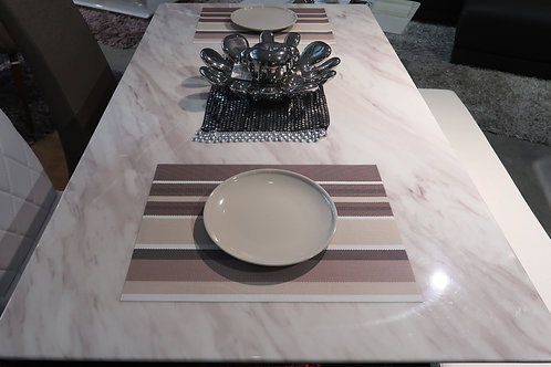 JAZZ WHITE MARBLE DINING TABLE