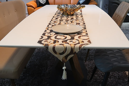 PEARL MARBLE DINING TABLE