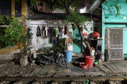 House on the railway border