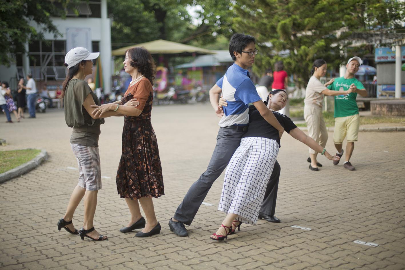 Tango matinale Hue 2015