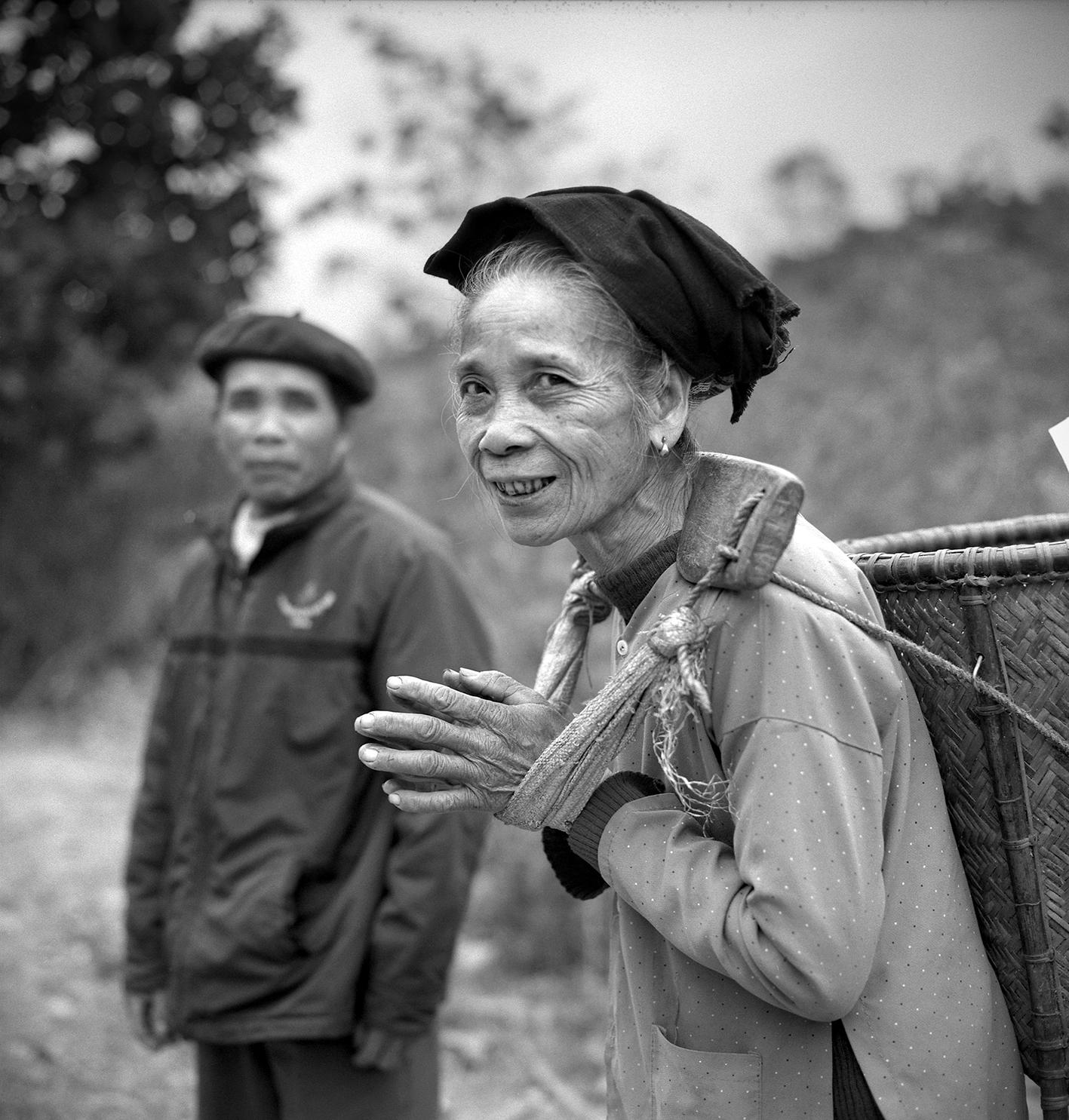 Femme Thai et son mari, février 2014