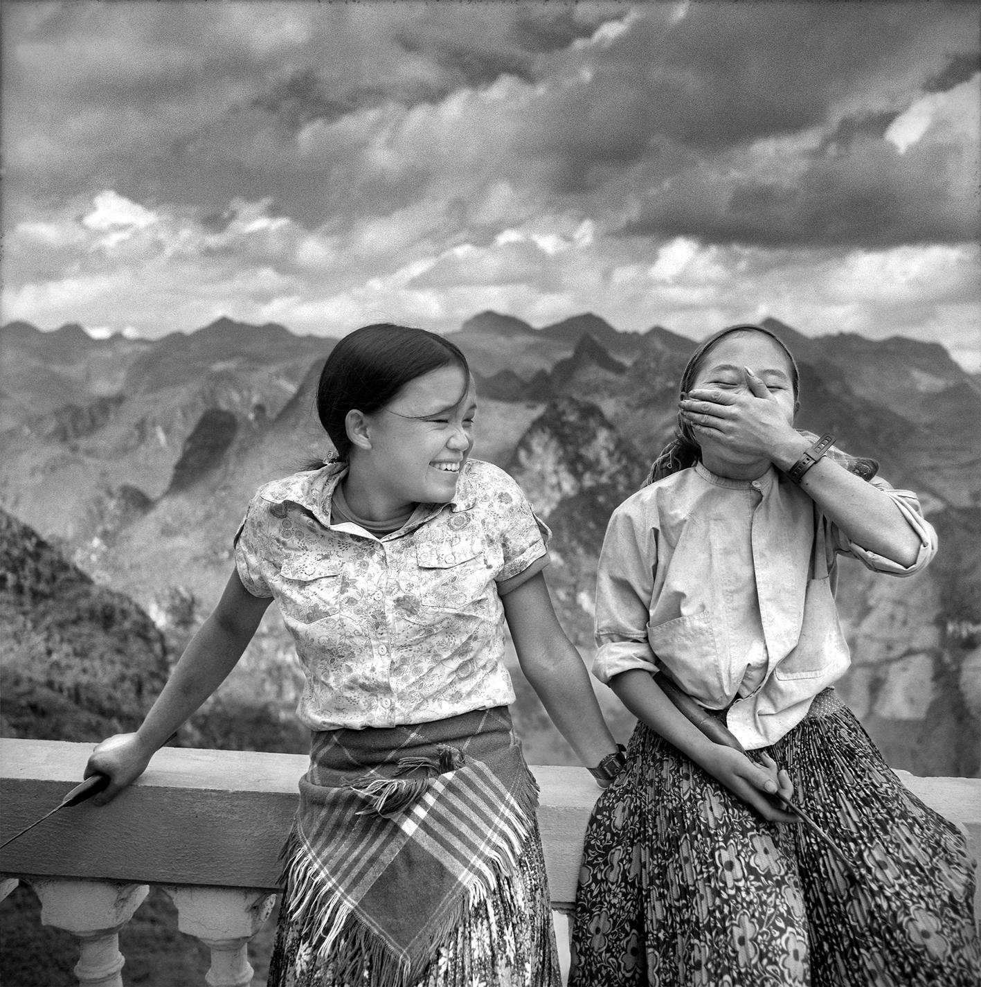 Jeunes  filles Hmong Ma Pi Leng Juin 2009