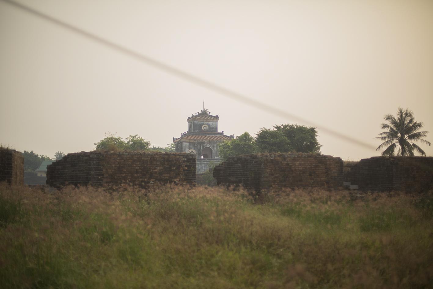 Jardins au nord de la citadelle, Hue