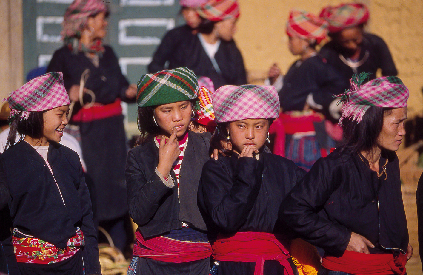 Province de Lao Cai, décembre 1995