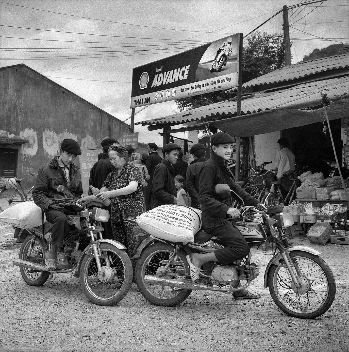 Station service Ha Giang, juin 2009
