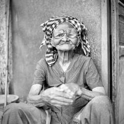 Dame Khmer, février 2014