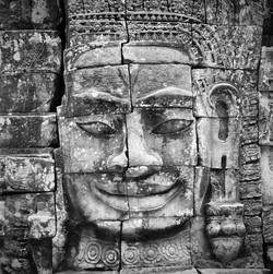 Bayon, Cambodge, mai 2006