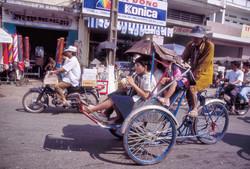 Cyclo à Cholon Janvier 1996