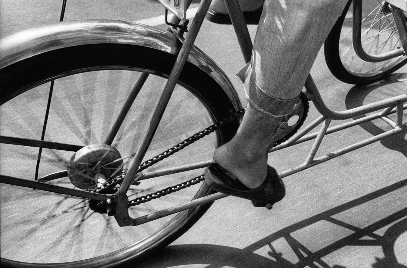 Cyclo Saigon janvier 1996