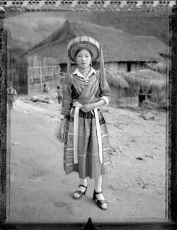 Xin Thu Duyen jeune femme Pa Then Mars 2005