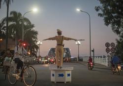 Rond Point du Morin à Hue