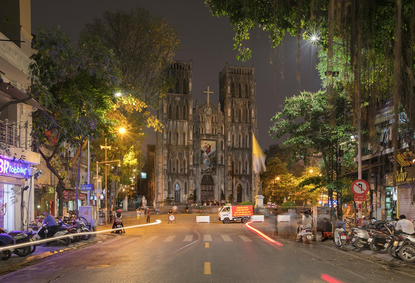 Hanoi Cathédrale Avril 2017
