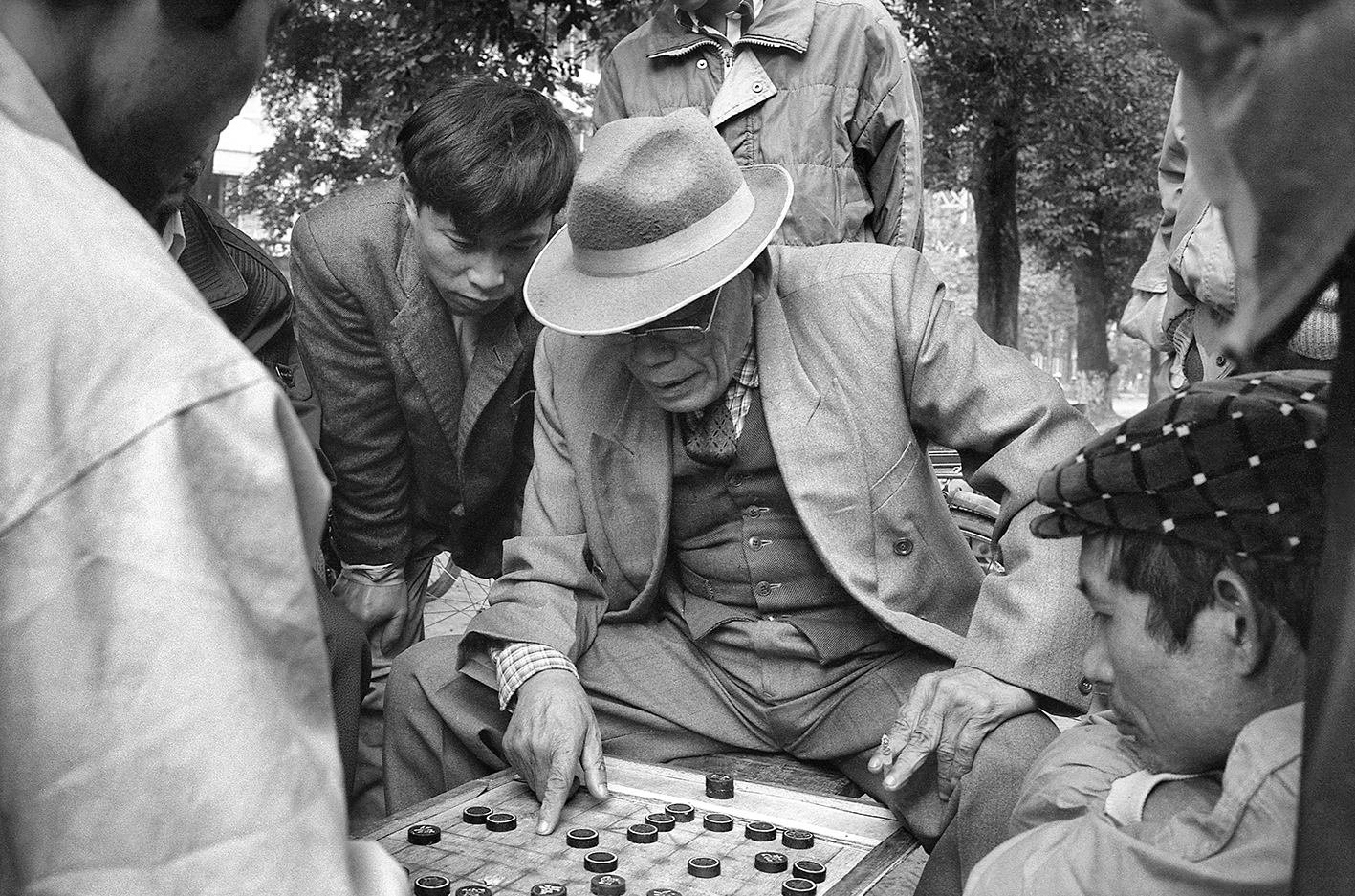 Partie de Dames Hanoi 12 1995