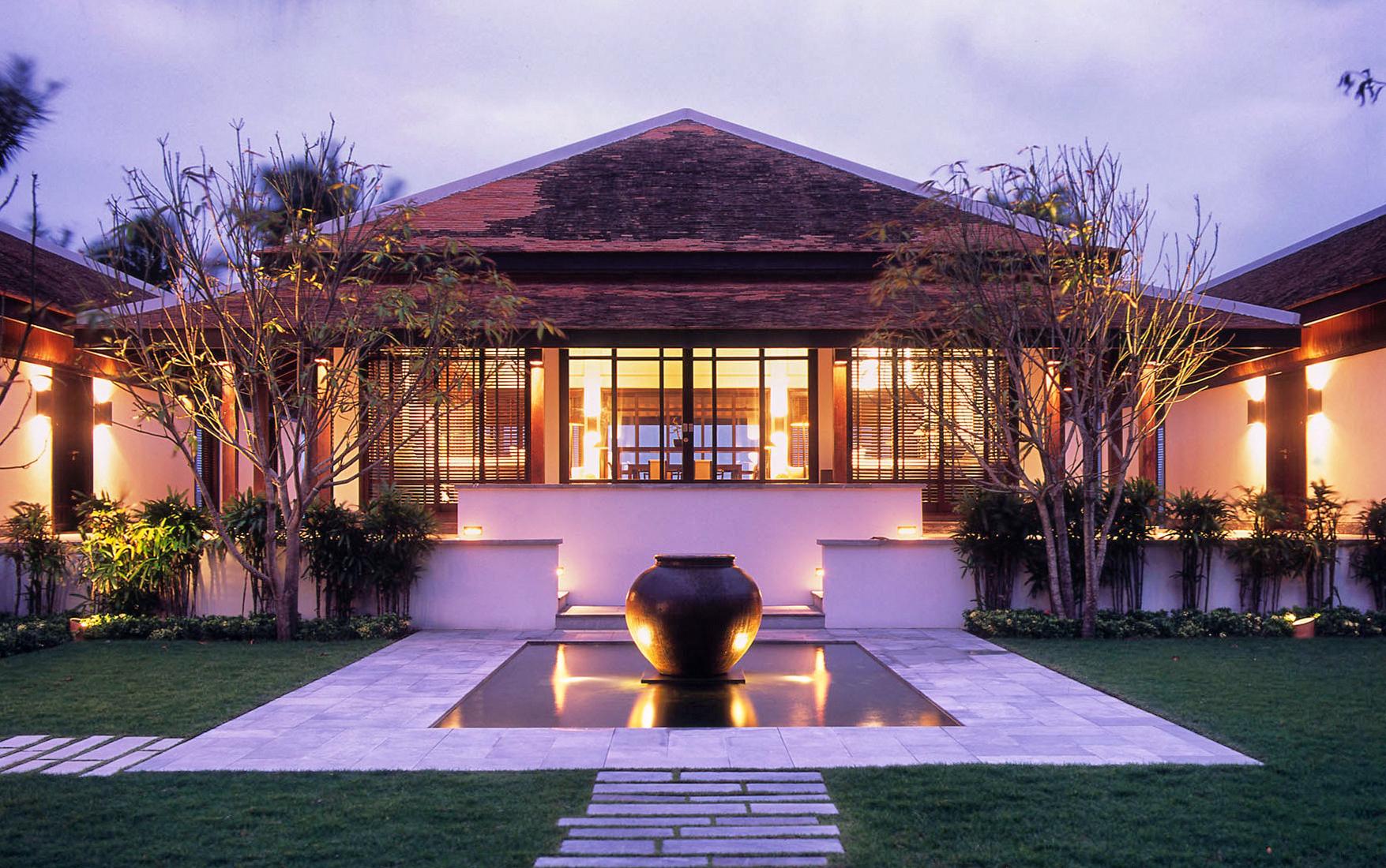 Nam Hai Villa nuit