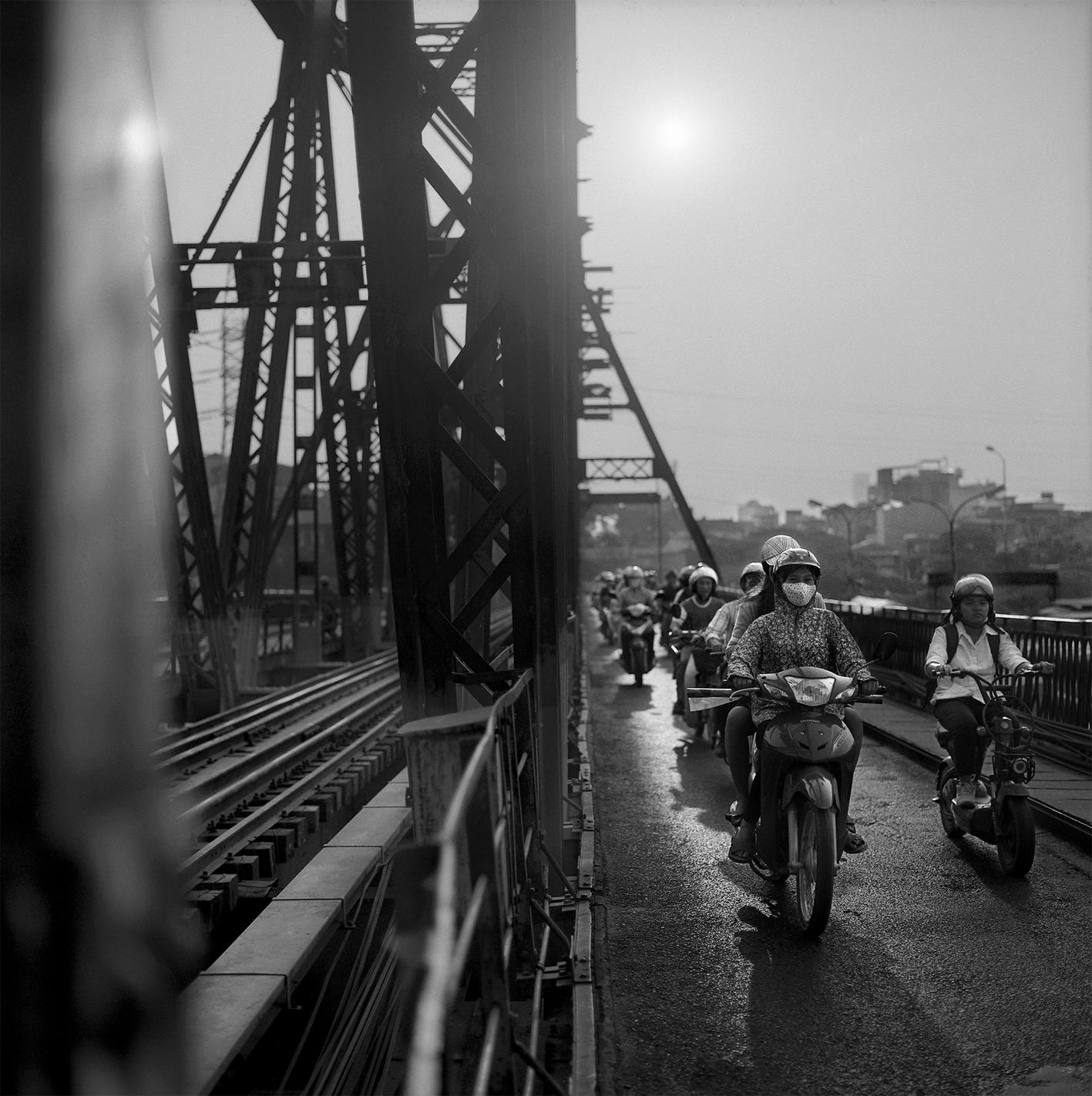Hanoi Long Bien fin de journée 2015