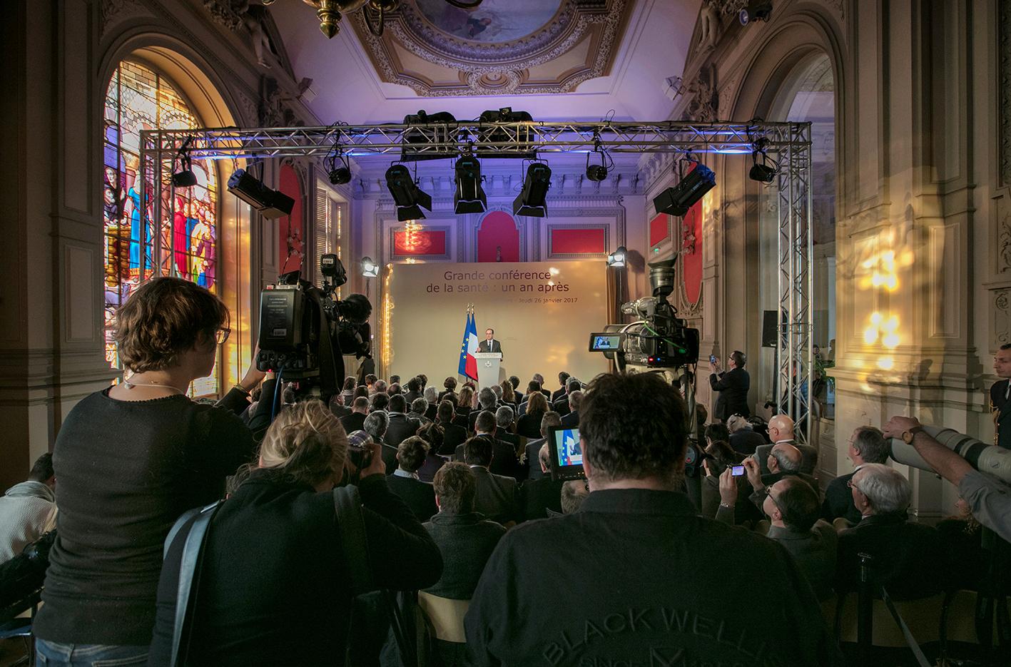 Visite F Hollande à Poitiers