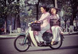 Hao Dai Saigon décembre 1995