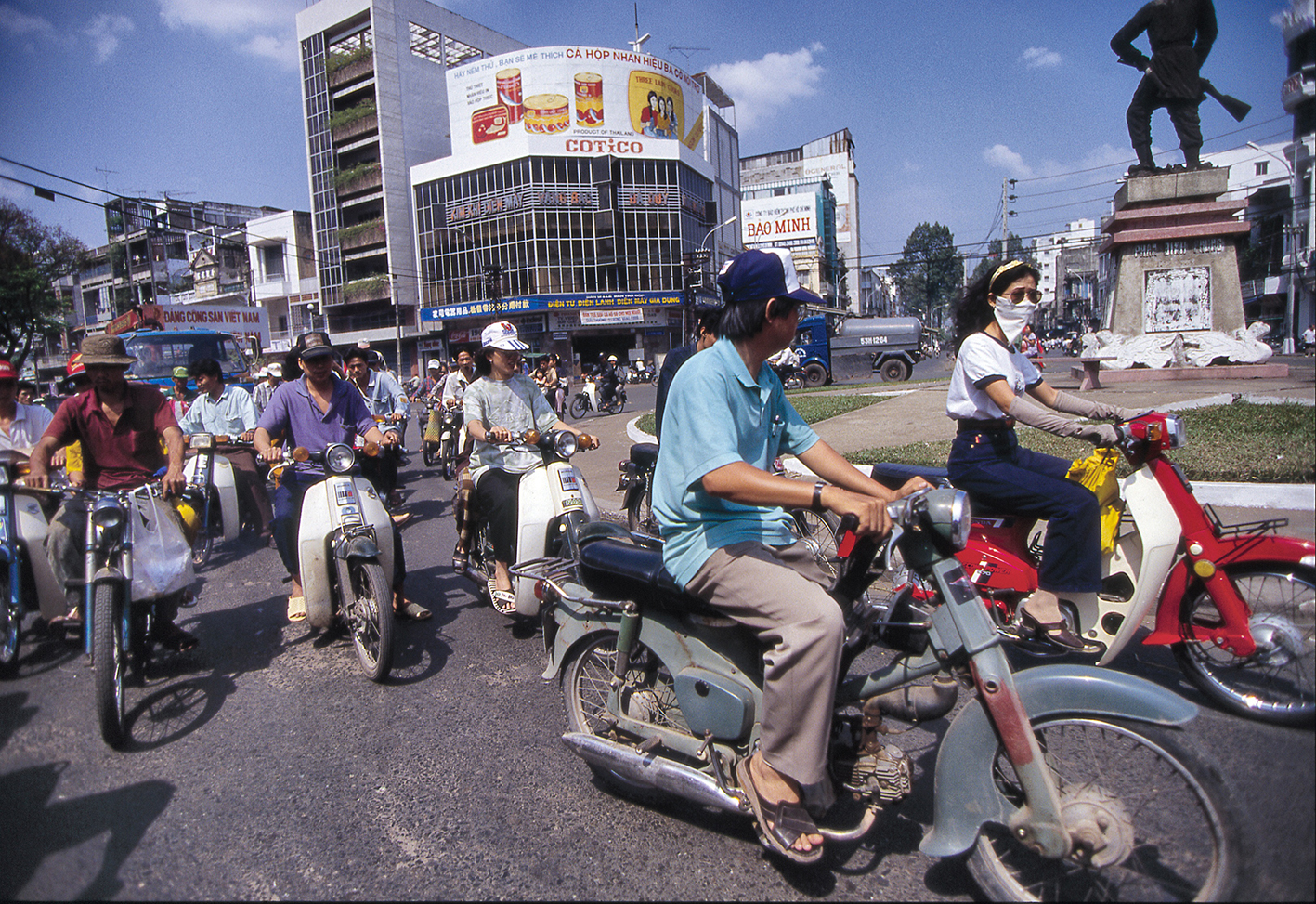 Saigon circulation, janvier 1996
