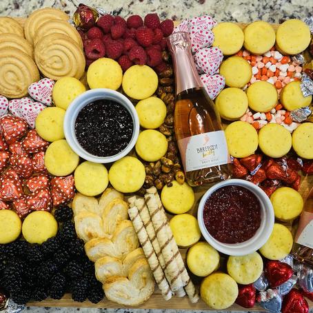 Dessert Board for Valentine's Day