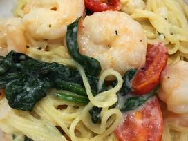 Creamy Garlic Shrimp Pasta
