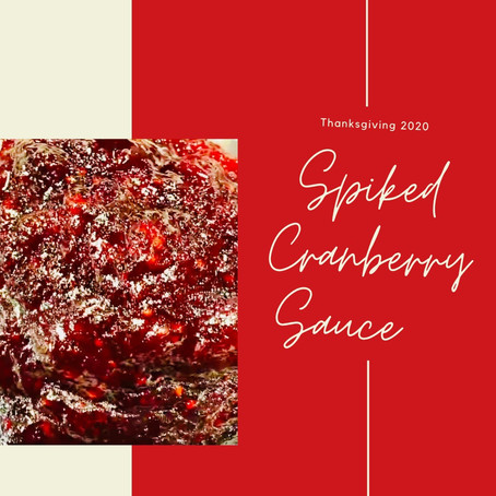 Spiked Cranberry Sauce