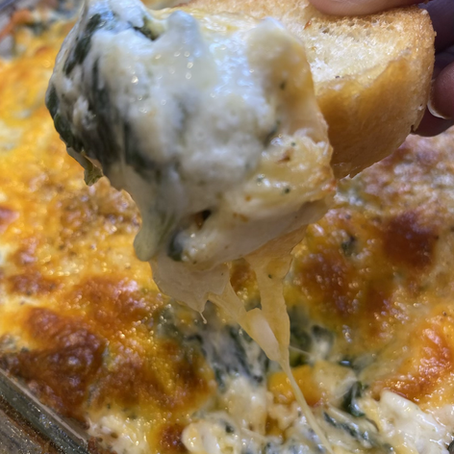 Hot Spinach and Crab Dip