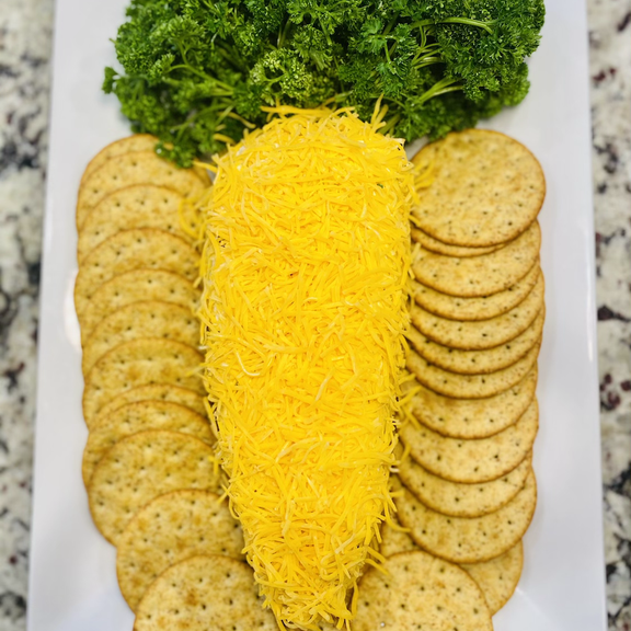 Carrot Shaped Cheeseball