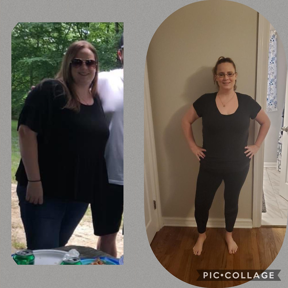 "Its amazing to see the results of getting ""addicted"" to your workouts!  Lisa is a great example of the byproduct!  Cheering right along with her!"
