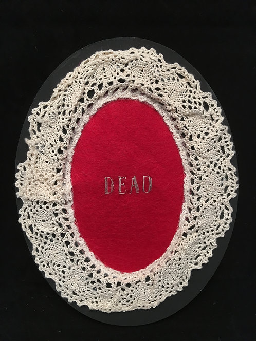 Creepy Needlepoint Dead