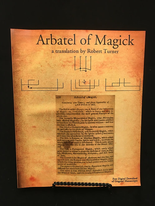Arbatel of Magick Robert Turner