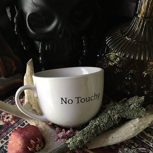No Touchy Cup