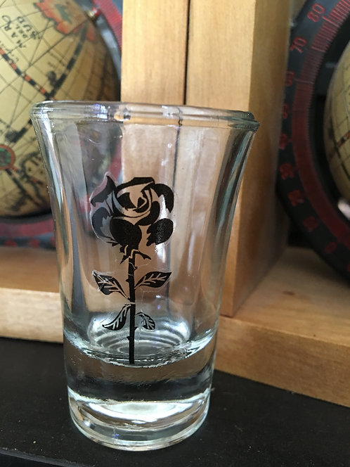 Rose Shot Glass 2pc.