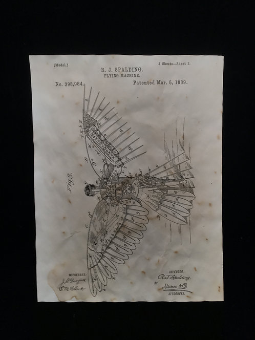 Flying Machine Patent Archive