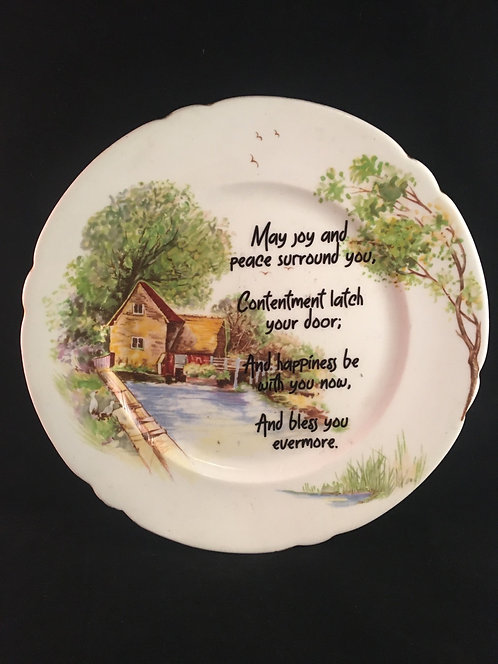 Home Blessings Plate