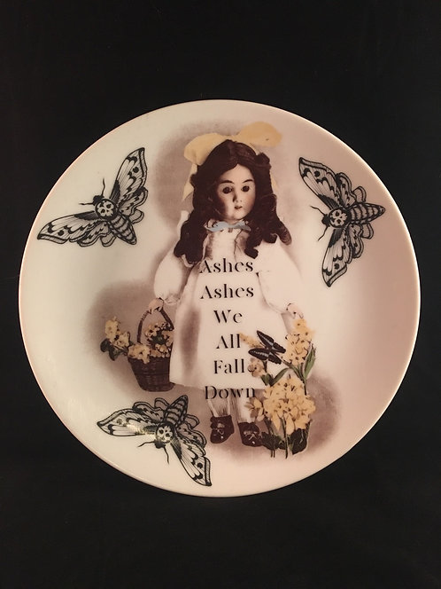 DeathHeadMoth Creepy Doll Plate