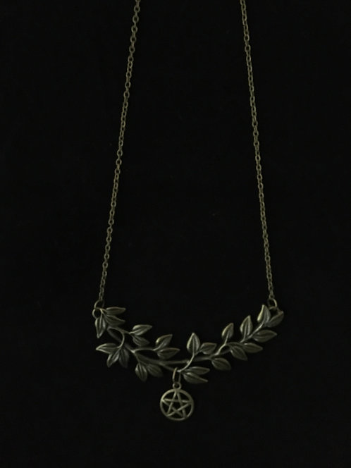Pentacle Bib Necklace