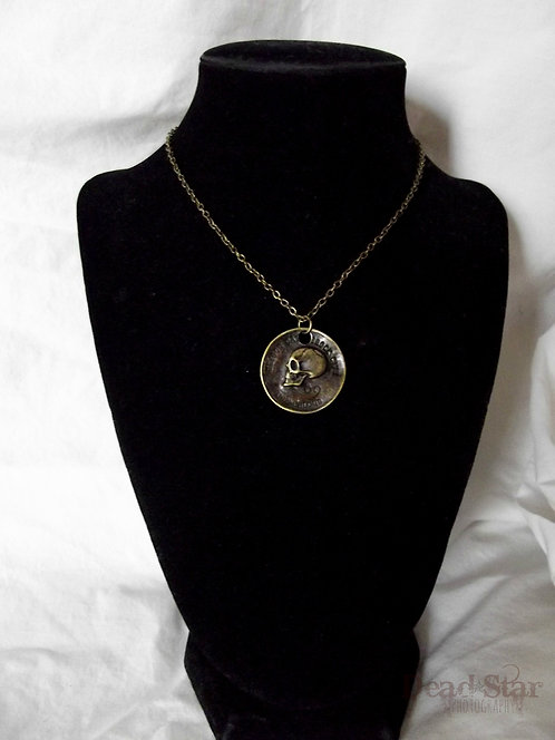 Anti Love Coin Necklace