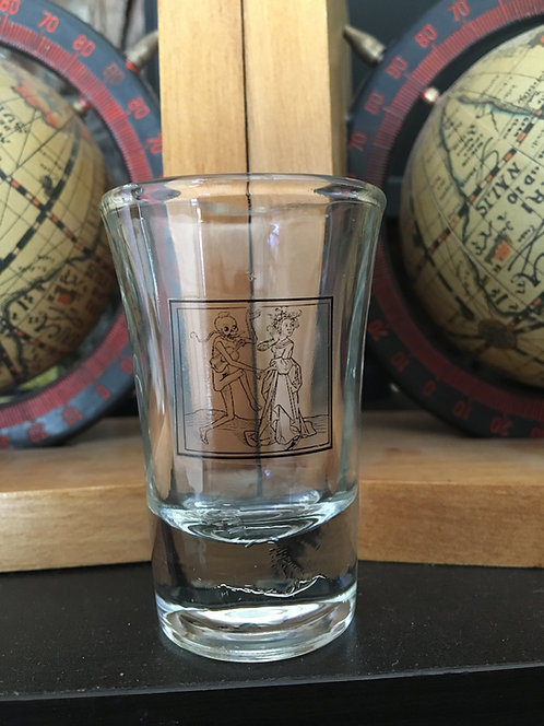 Death Dance Shot Glass 2pc