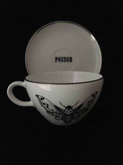 Death Head Moth Tea Set