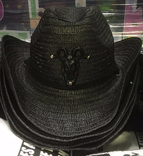 Western Latex Baphomet Hat