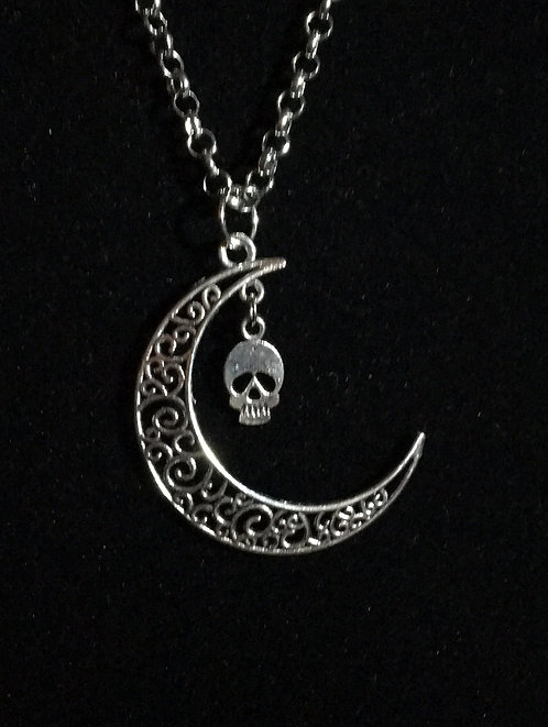 Death Moon Necklace