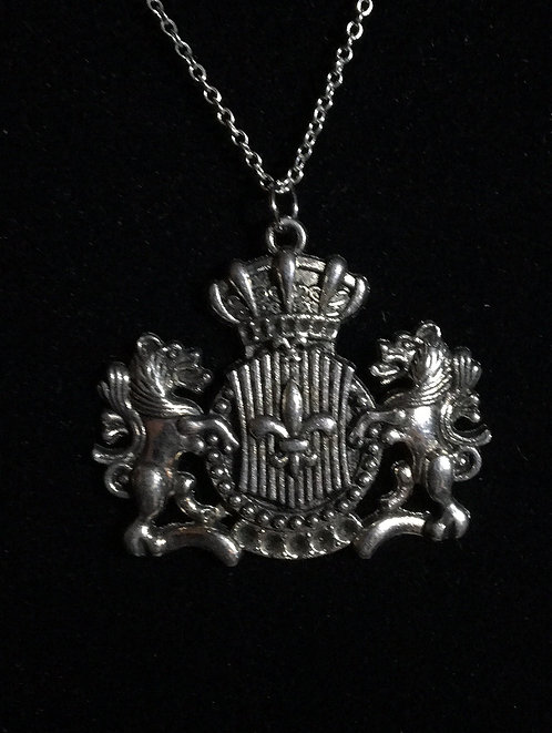Crest Coat of Arms Necklace
