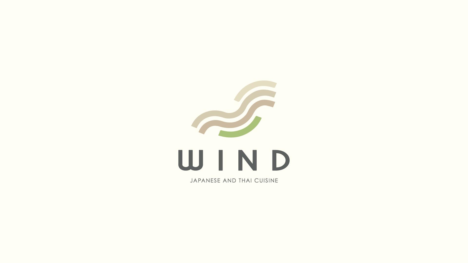 Wind Japanese and Thai Cuisine Logo