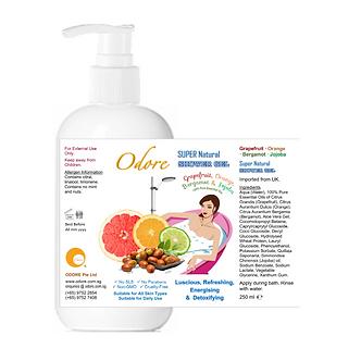 ODORE Shower Gel 250ml (Grapefruit, Orange, Bergamot, Jojoba)