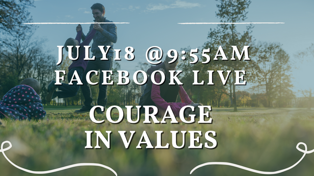 Courage in Values