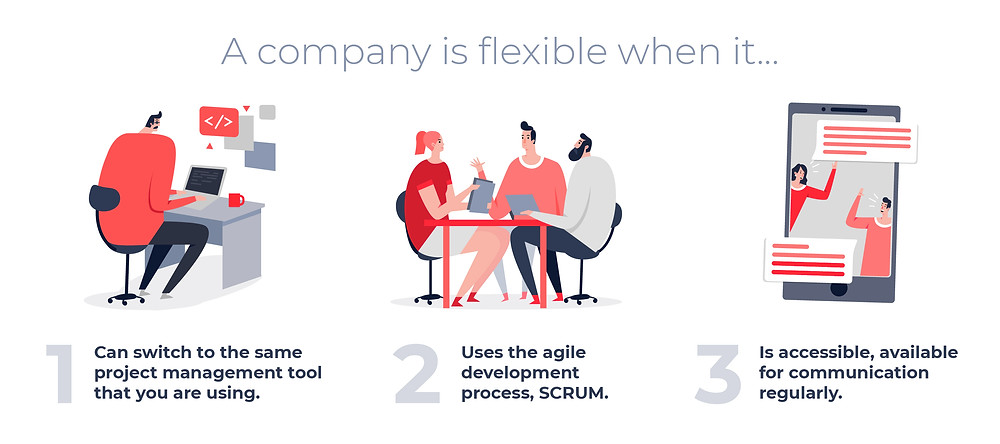 A Company is flexible when