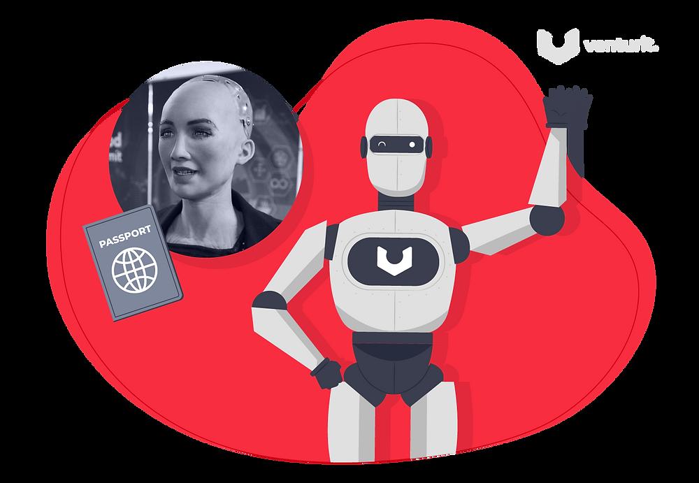 Sophia the Robot has Citizenship