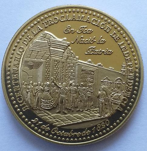 MEDALLA -Bicentenario de la Proclamación de Independencia